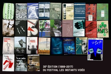 30th edition(1988 – 2017) of the Festival Les Instants Video