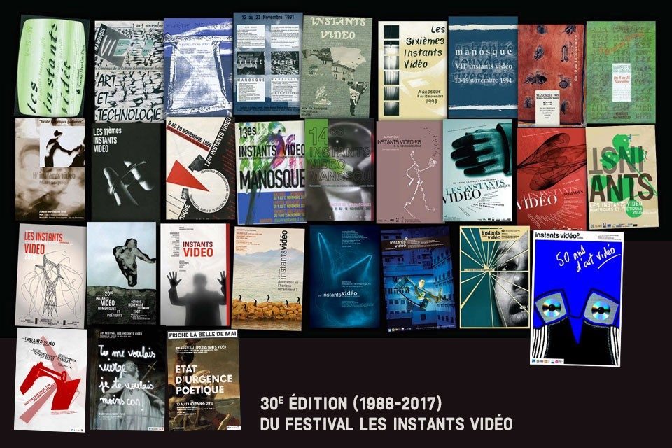 30th edition (1988 – 2017) of the Festival Les Instants Video